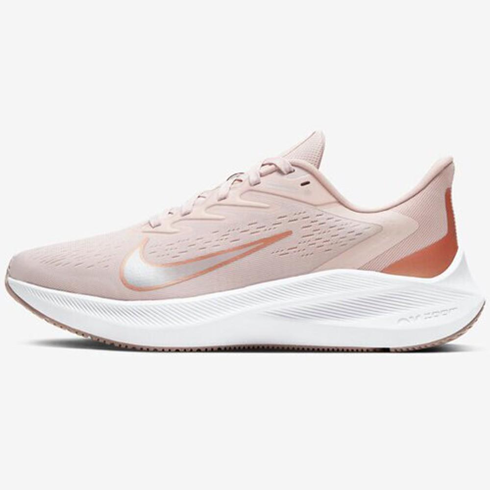 NIKE Air Zoom Winflo 7女鞋 慢跑 輕量 網布 透氣 靈敏 穩定 粉【運動世界】CJ0302-601