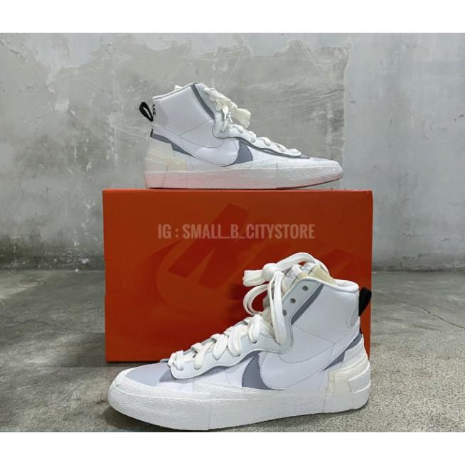 Sacai x Nike Blazer 灰白 BV0072-100 雙鉤