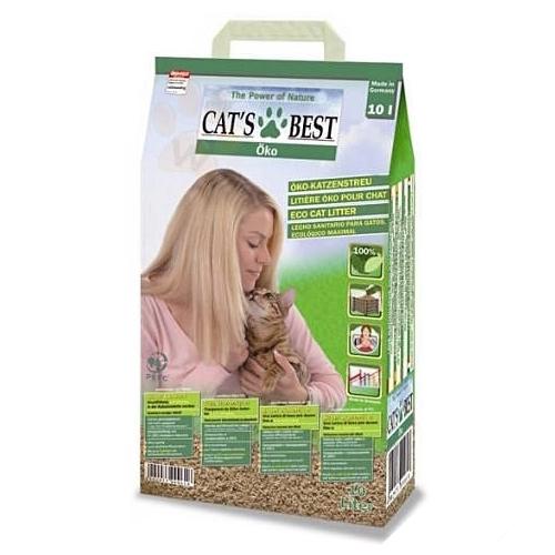 *WANG *【3包組+免運】凱優CAT S BEST 木屑 綠標細砂10L