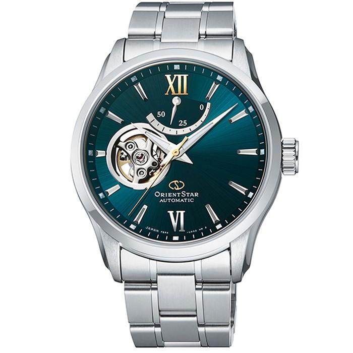 【ORIENT 東方錶】東方錶ORIENT STAR機械鋼帶錶-綠(RE-AT0002E)