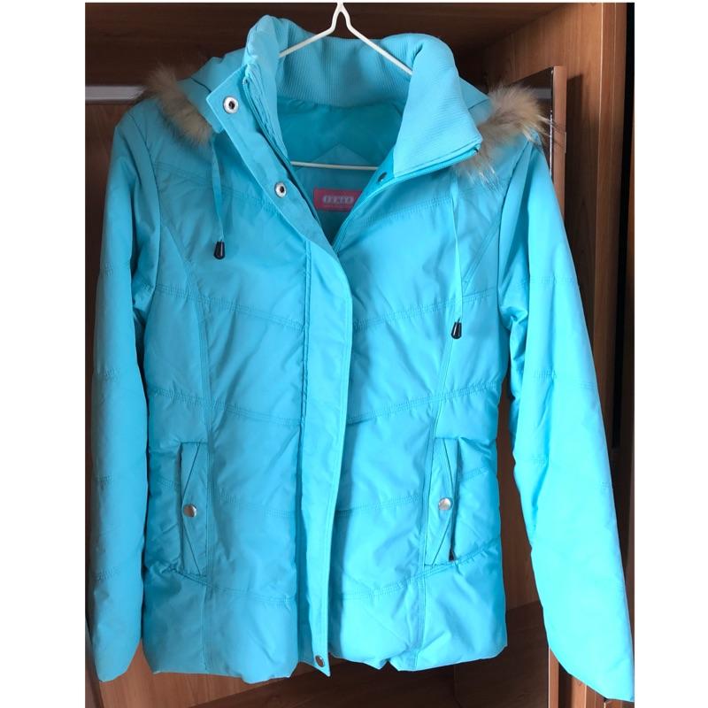 OTTO 專櫃保暖鋪棉外套 Tiffany藍綠色