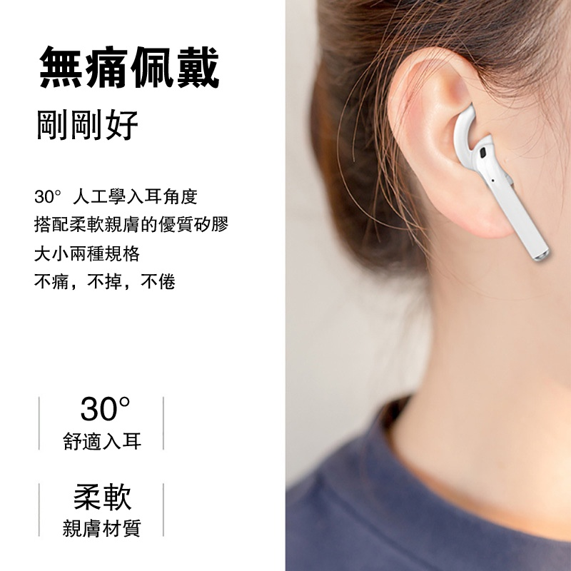 藍芽耳機防脫落耳帽 適用AirPods/Pro4/二代耳機/四代耳機/i9S/i12 防掉耳帽 耳帽 防丟耳帽