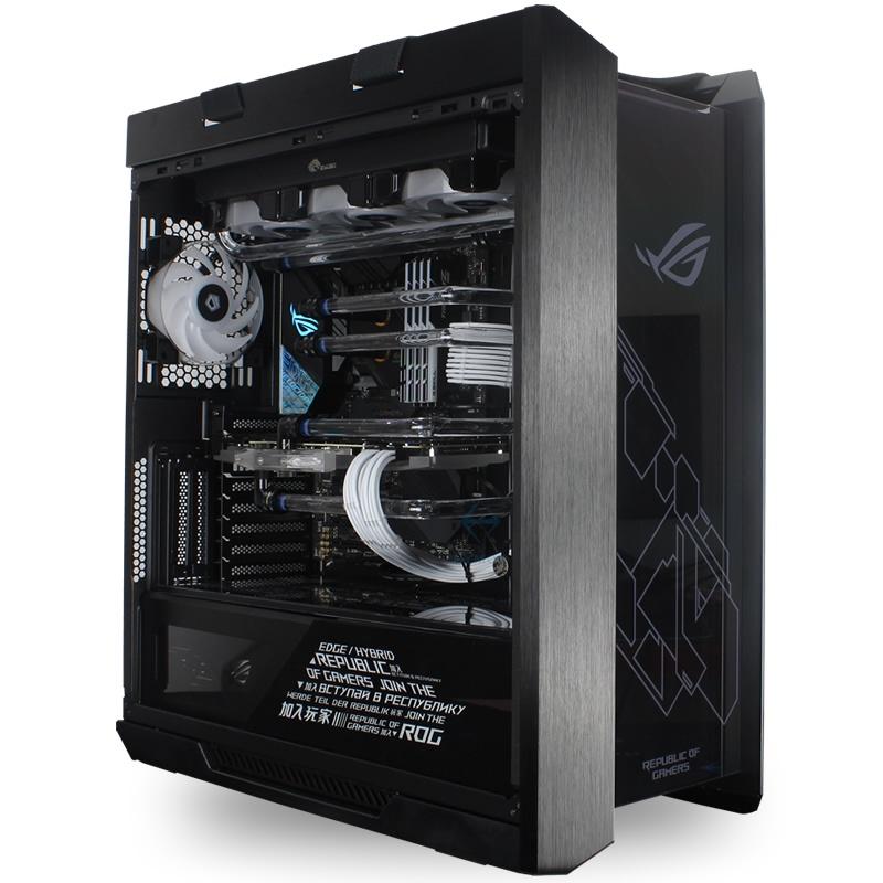 【台灣 現貨】 正品ROG全家桶i9 10900K RTX3080 3090高端主機遊戲分體水冷電腦