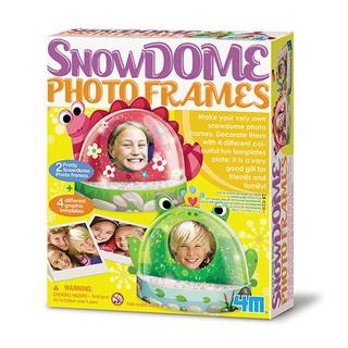 【4M】美勞創作系列-趣味雪花相框 Snow Dome Photo Frames 00-04593 台北市