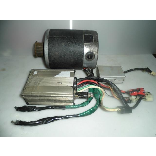 電動機車/電動自行車~傳動馬達(有刷)24V/800W~含控制器~