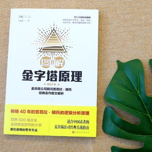 圖解金字塔原理(修訂版) 王友龍著 麥肯錫經典實戰指南企業管理書