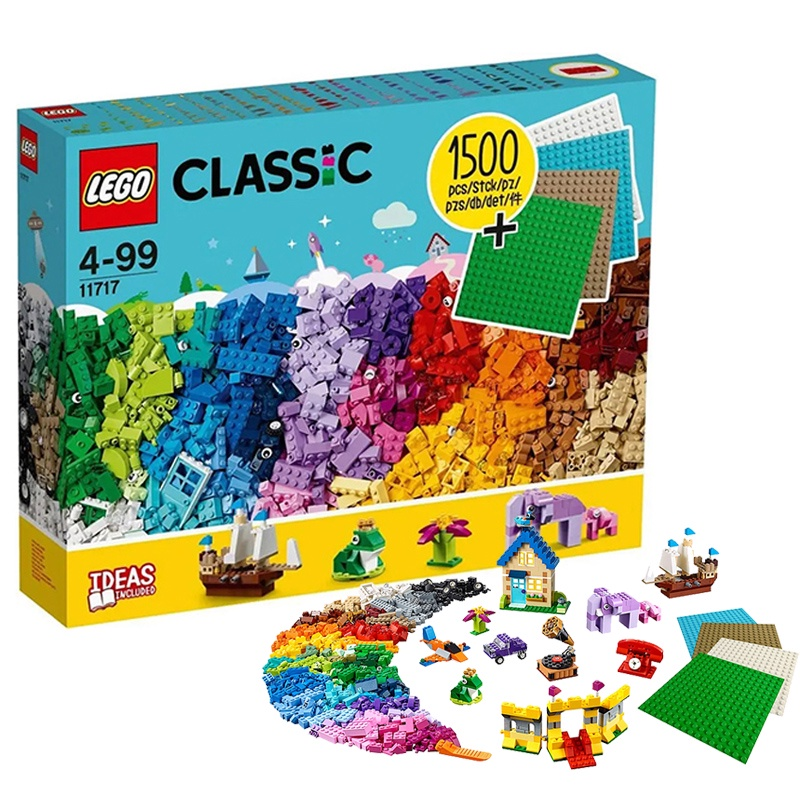【正品 現貨】樂高創意小顆粒11717 10717 11011 11014兒童拼裝男孩子積木玩具