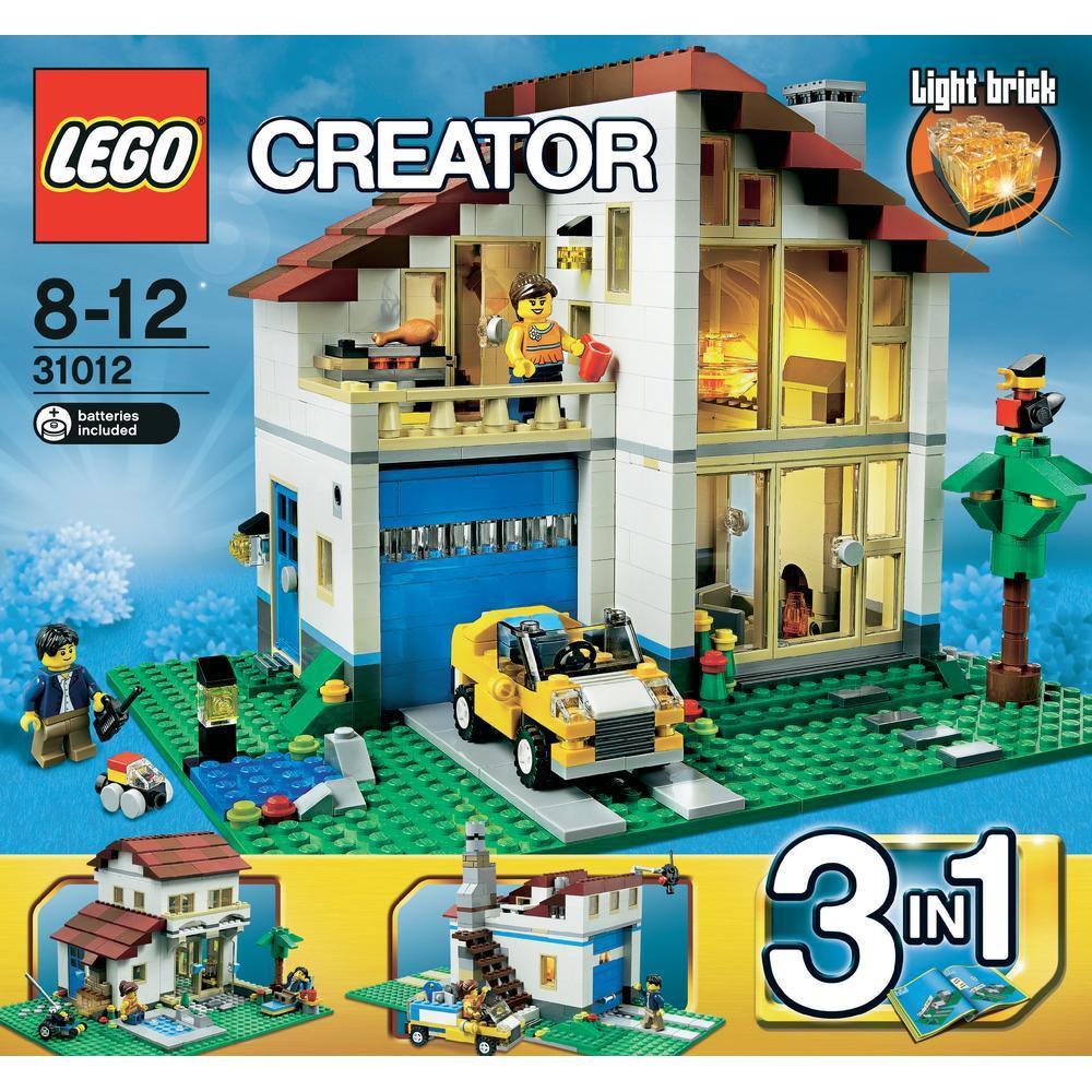 ~樂樂等~ 樂高LEGO <絕版好物> creator 3合1 31012 大宅樓中樓
