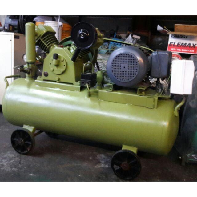 中古   3HP高壓 空壓機   單相220V