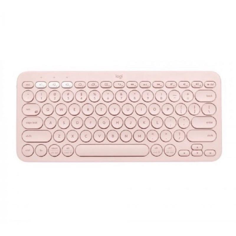 二手九成新 羅技 Logitech K380繁體注音 跨平台多工藍芽無線鍵盤 粉色