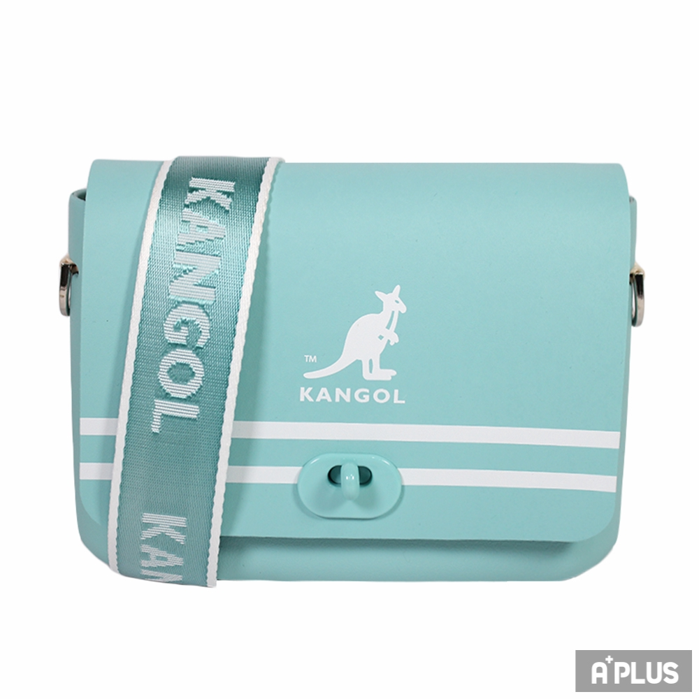 KANGOL 側背包(湖水綠)(外扣式) - 6025300181
