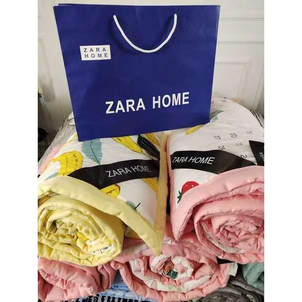 【現貨50種款式】 zara home 爆款西班牙ZARA 夏涼被 【送收纳袋】抗菌水洗棉夏被 空调