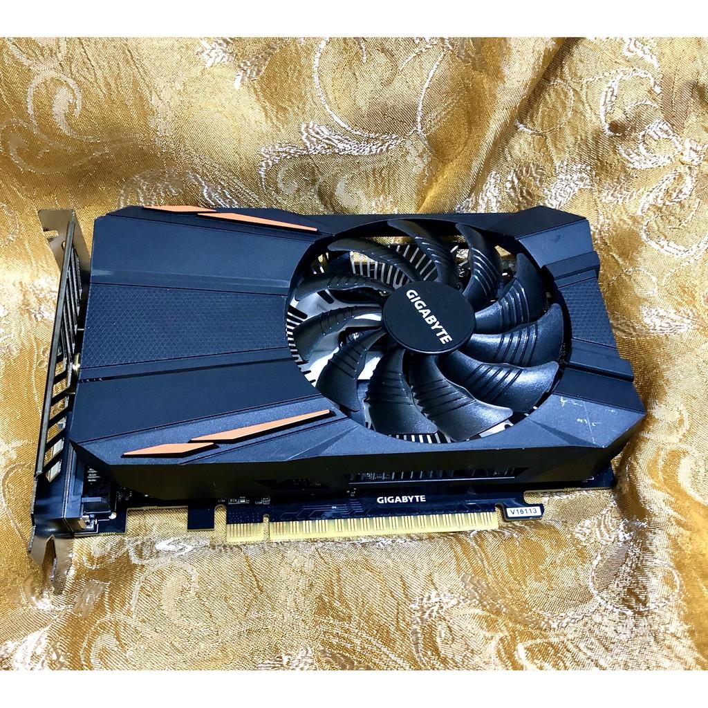 技嘉 NVIDIA GTX1050TI 1050 4G 4GB 顯示卡 1050ti 支援4K VP9免插電