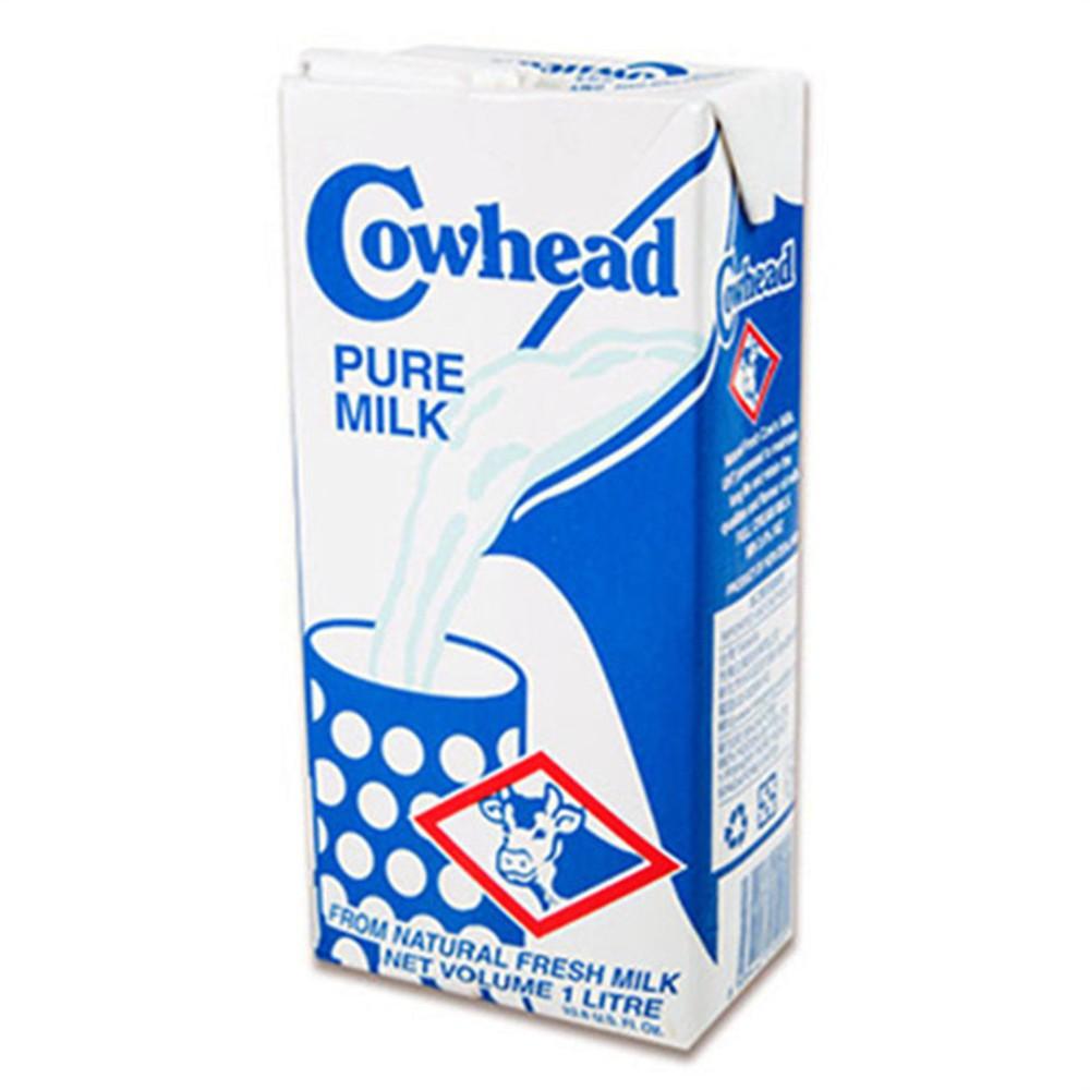 [ Cowhead田園 ] 紐西蘭全脂保久乳1000ml/瓶