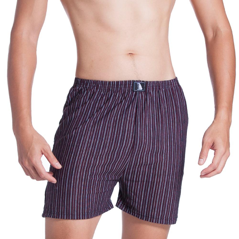 LIGHT&DARK 舒適棉柔條紋平口褲(6件)