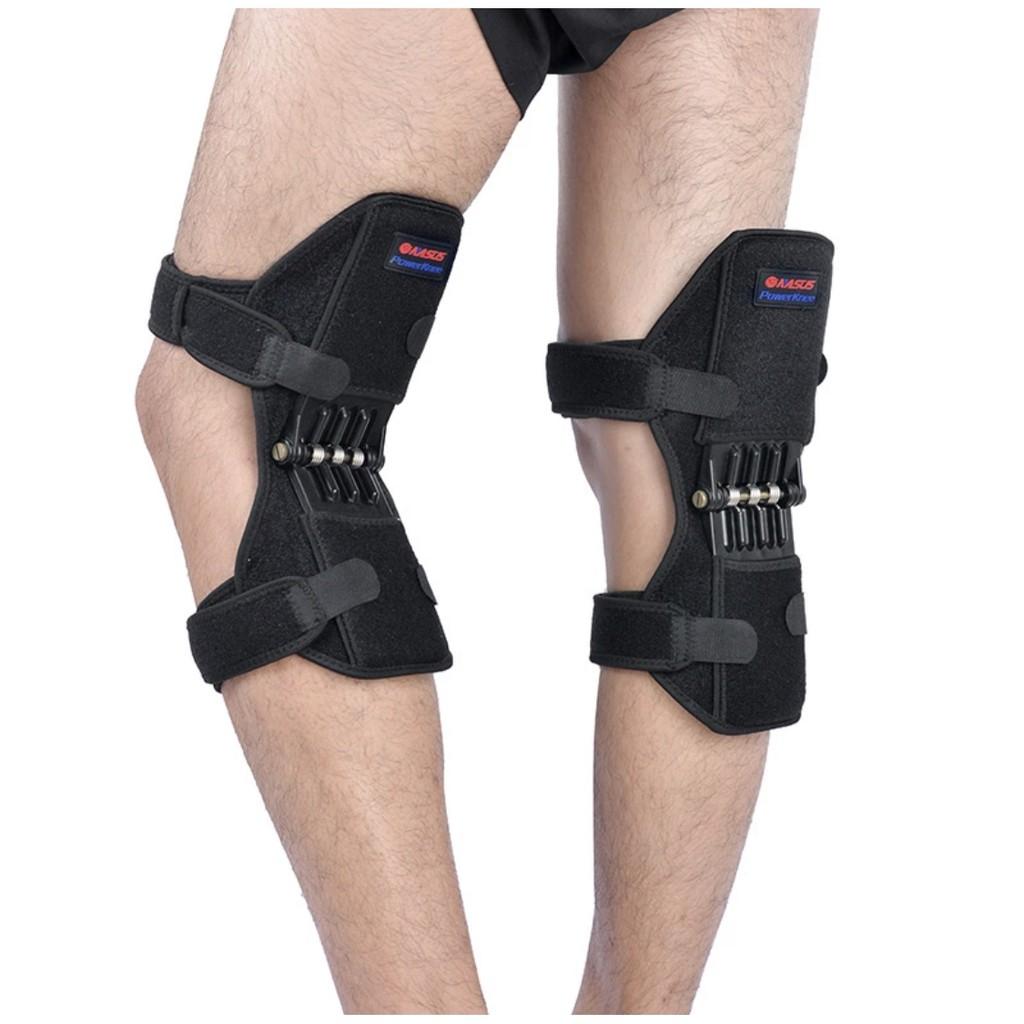【MAAN 運動精品】韓國動力型回彈護膝 動力型回彈護膝 深蹲保護帶 40Kg強力支撐 限量優惠