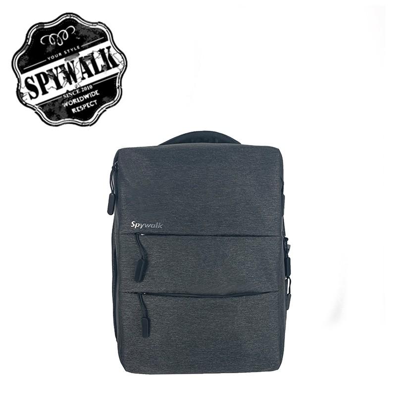 SPYWALK 素面韓版型男後背包 NO:S9081