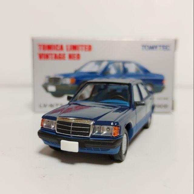 Tomytec TLV LV-N77b Mercedes-Benz 190E W201 賓士 Tomica