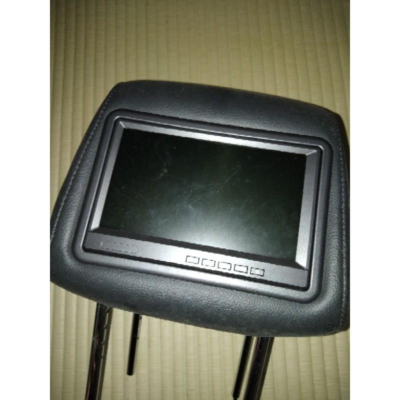 ASIANET 1*主機  2*枕頭  9吋車用頭枕液晶螢幕 (枕頭+9吋TV) 公司貨.(福特 FOCUS實裝車)