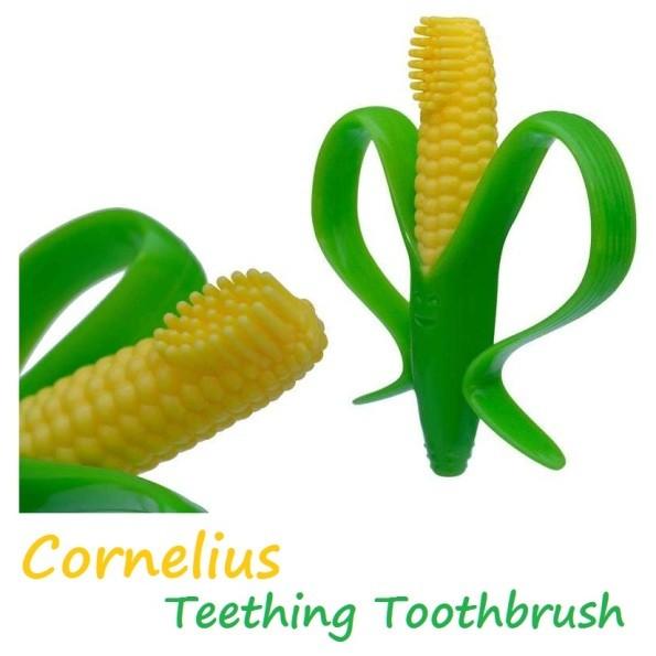 * Baby Banana 寶寶固齒器 Brush 玉米 造型 固齒器 香蕉 嬰幼兒 磨牙器