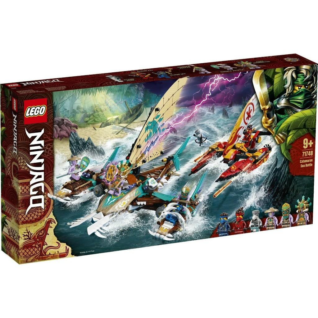LEGO 樂高 71748 雙體船海上大戰
