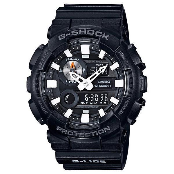 CASIO卡西歐G-SHOCK 流行玩家先驅 潮汐月相衝 浪運動錶 GAX-100B-1A