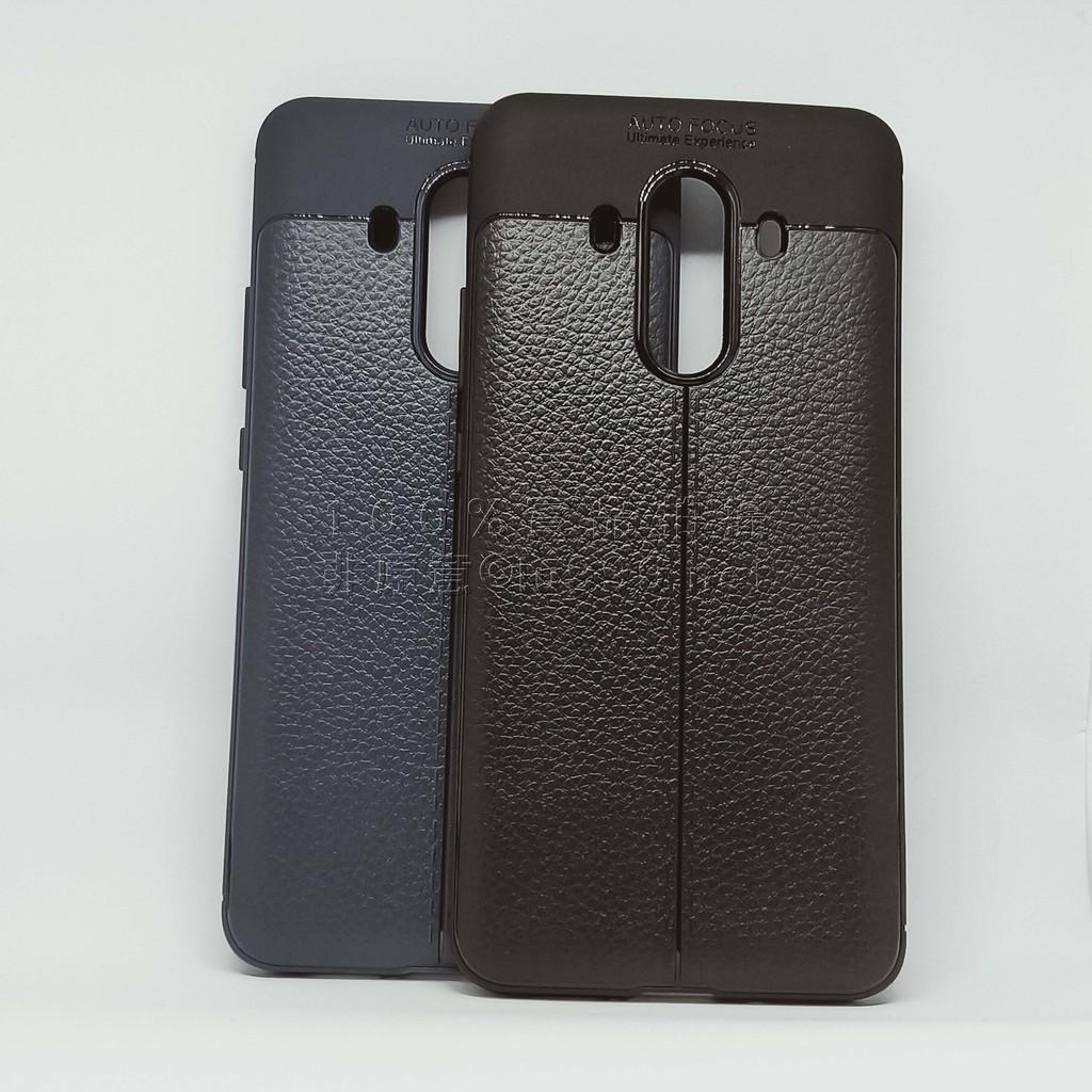 Huawei 華為  Mate 10 PRO   荔枝紋矽膠套 手機殼 保護殼 皮革紋 DPS001-E6