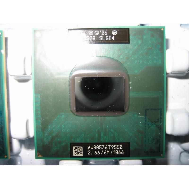 (內有1年保)正式版Intel T9550 2.66G筆電GM45 T9900 T9800 T9600 T9400參考