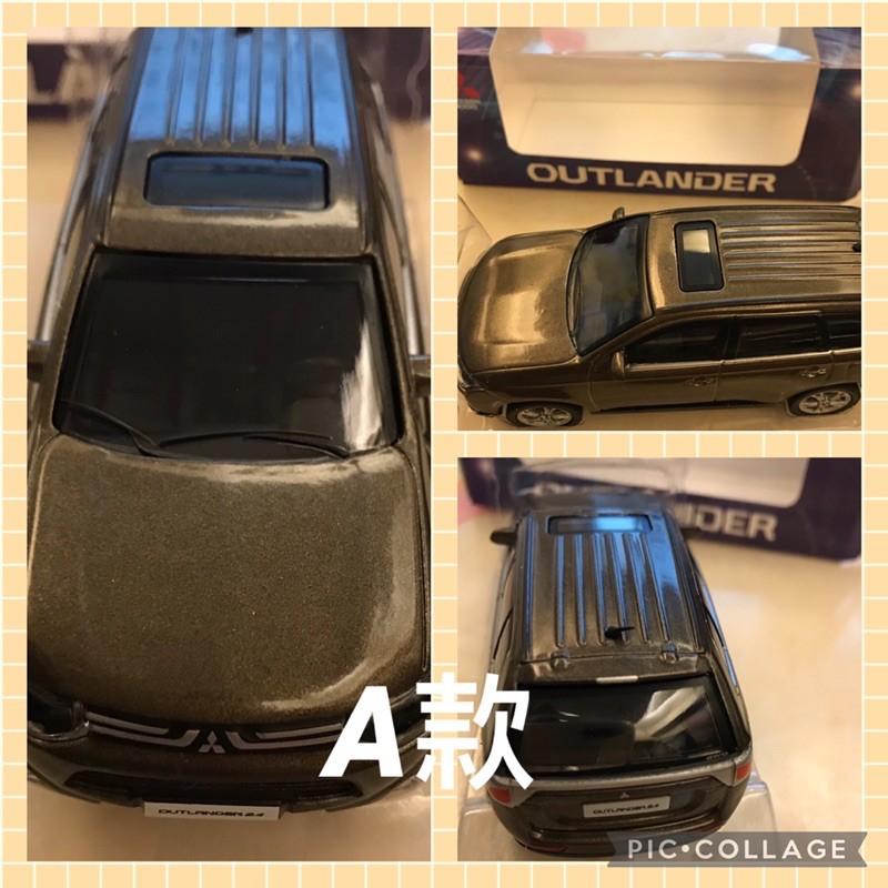 全新 outlander模型車 模型車 迴力車 玩具車 Mitsubishi模型車 兒童節禮物 生日禮物