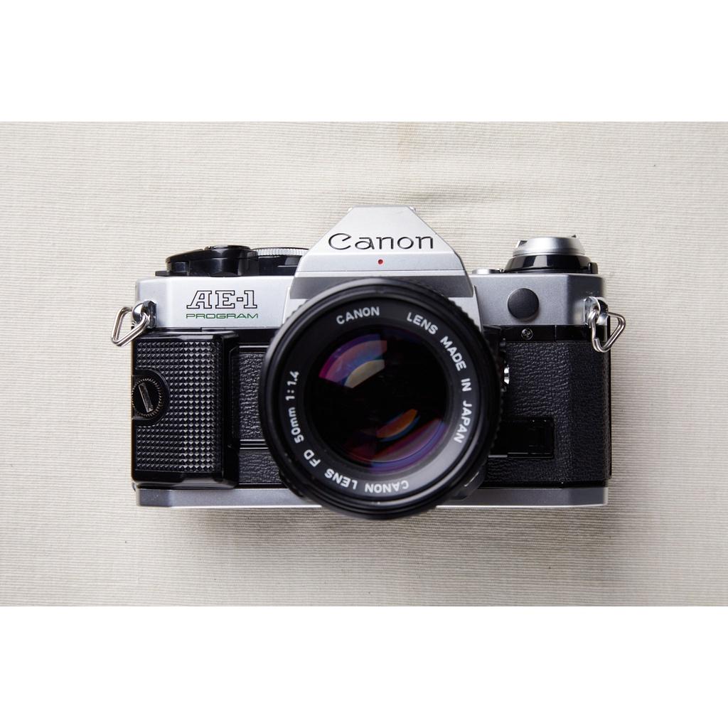 【森寫真機店】Canon AE-1P 銀 #345+canon new fd 50mmf1.4
