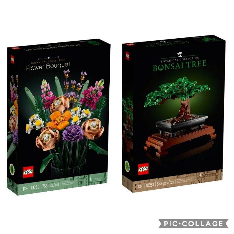 【ToyDreams】LEGO樂高 Creator Expert 10280 花束 vs.10281 盆栽 盆景