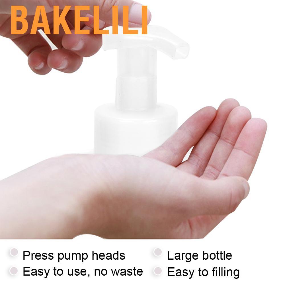 Bakelili Wash 泡沫液體瓶起泡簡單操作寬範圍專業沐浴露洗髮水