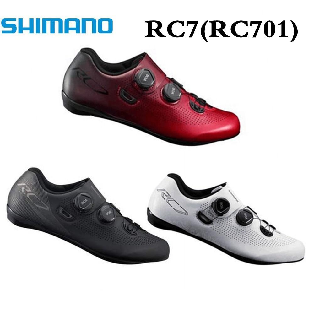 SHIMANO禧瑪諾RC7 RC701公路鎖鞋寬版 BOA rc5 RP9 RC9碳纖維鎖鞋
