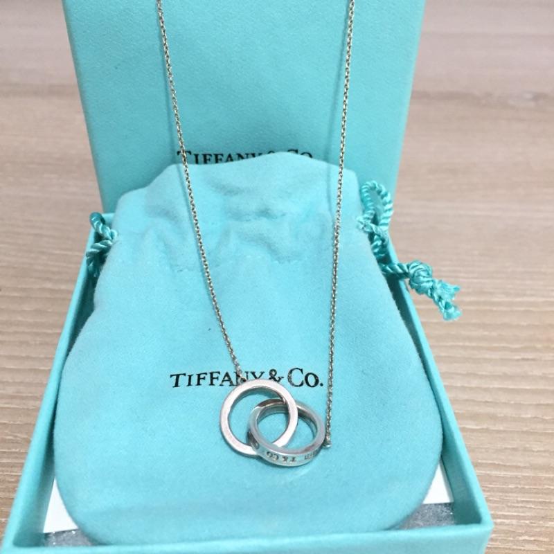 Tiffany 1837經典雙環項鍊💥降價