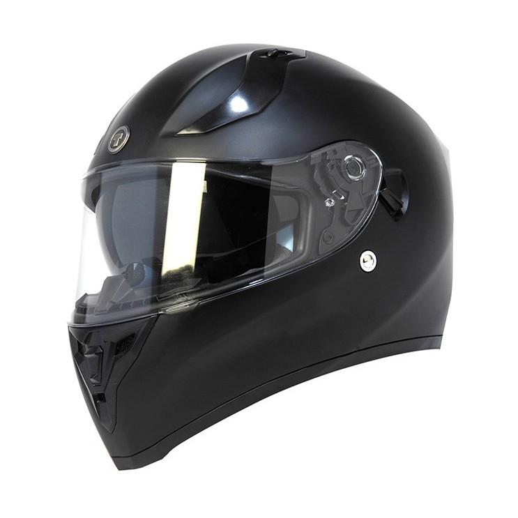 【TORC】 T15 Black 頭槌帽  消光 街跑車 全罩 安全帽 內遮陽片