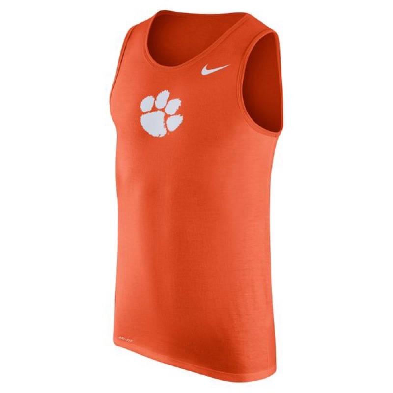 [oh.ya.club] 現貨 美版商品 Nike x Clemson NCAA限定背心 2XL