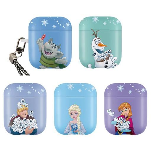 AirPods 保護殼│迪士尼 Frozen 冰雪奇緣 雪寶 安娜 艾莎│硬殼 保護套│z9215