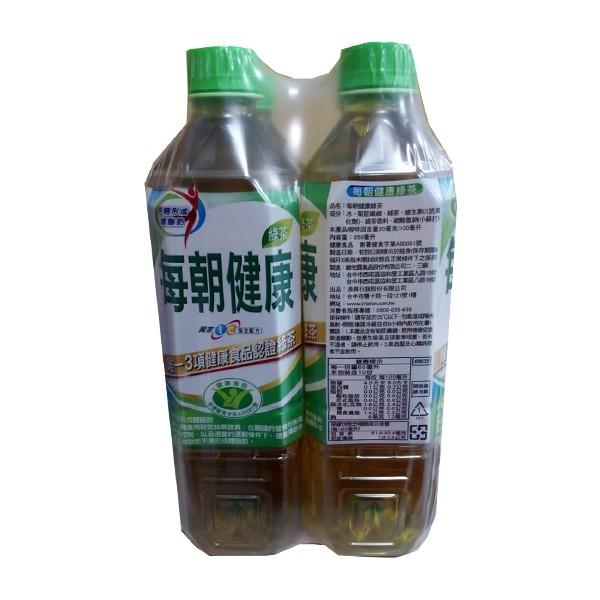 每朝綠茶 650mlx24瓶/箱  【大潤發】