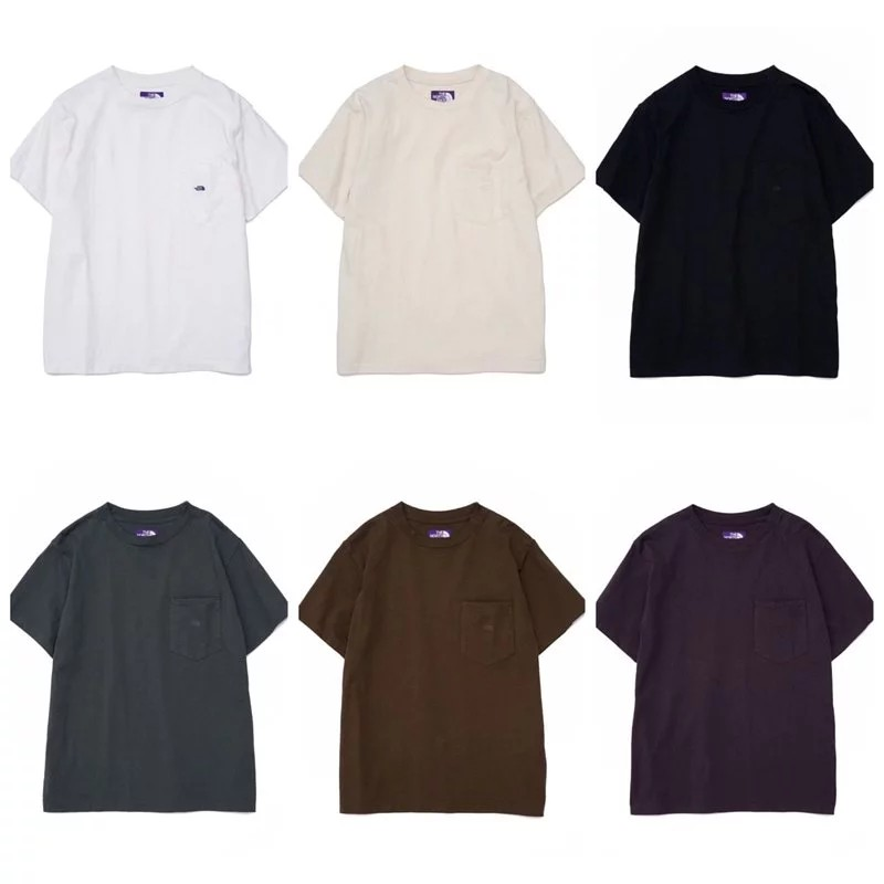 [NiL] The North Face Made by nanamica 紫標 口袋 短袖