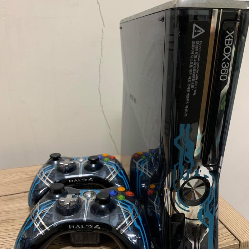 X box 360主機 最後一戰+2把手+遊戲片(降價售)