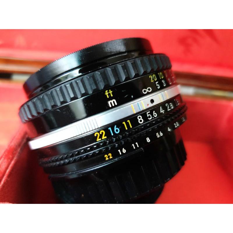 💋Nikon Ais 50mm F1.8 標準定焦餅乾鏡