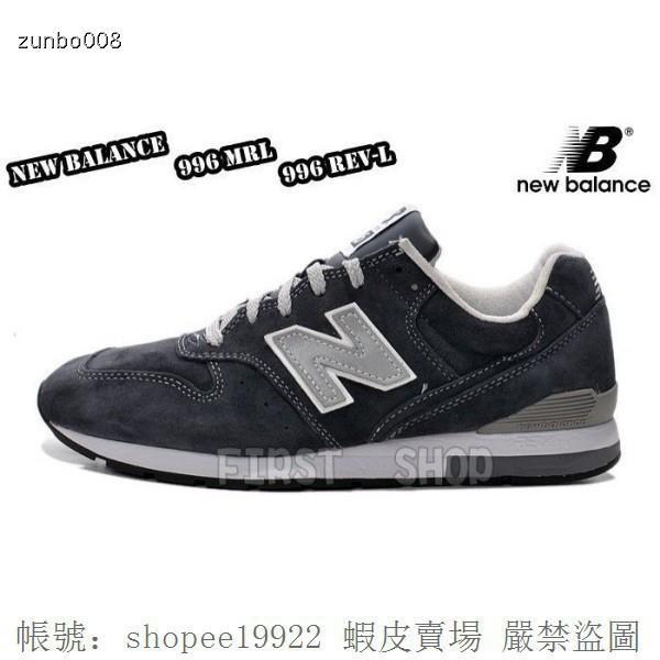 new product f78a2 db18b NEW BALANCE 996 MRL996 REV-L 深藍色 3M反光 麂皮 男女鞋 余文樂