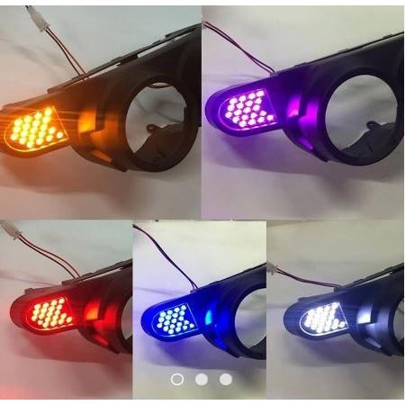 【公道的店】BWS方向燈 125 大B隱藏式前後LED方向燈+繼電器 隱藏方向燈 蜂巢方向燈 定位燈(含殼)