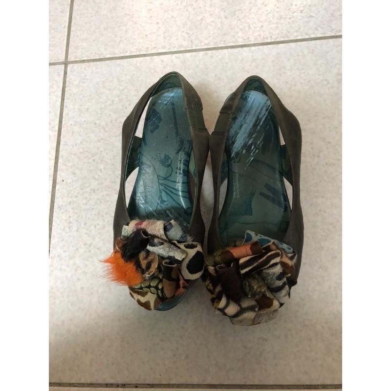 麥坎納女鞋6號厚底涼鞋