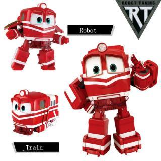 動感火車玩具 變形玩具 Robot Trains 變形火車俠 男孩女孩:玩具
