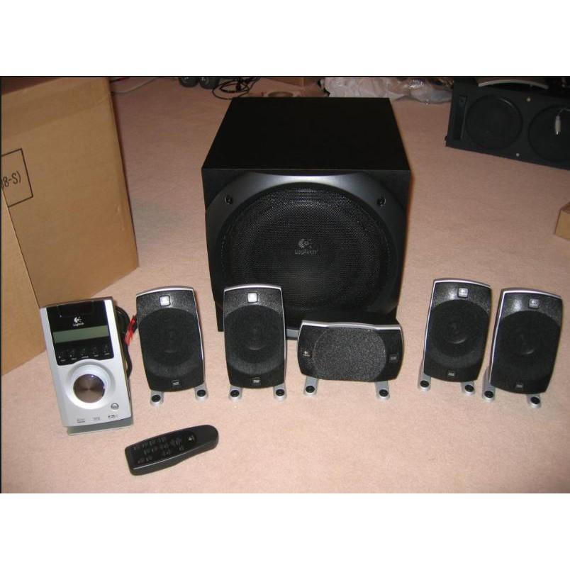 羅技 Z5500  5.1 聲道揚聲器 喇叭