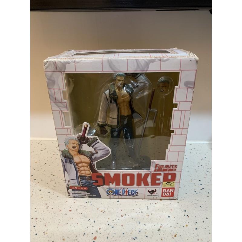 全新 金證 海賊王 航海王 Figuarts Zero 海軍 中將 Smoker 斯摩格 公仔