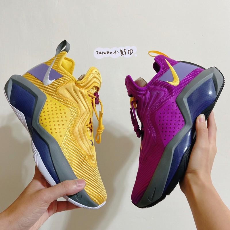 Nike LeBron Soldier 14 Lakers 鴛鴦 黃紫 湖人 CK6047-500