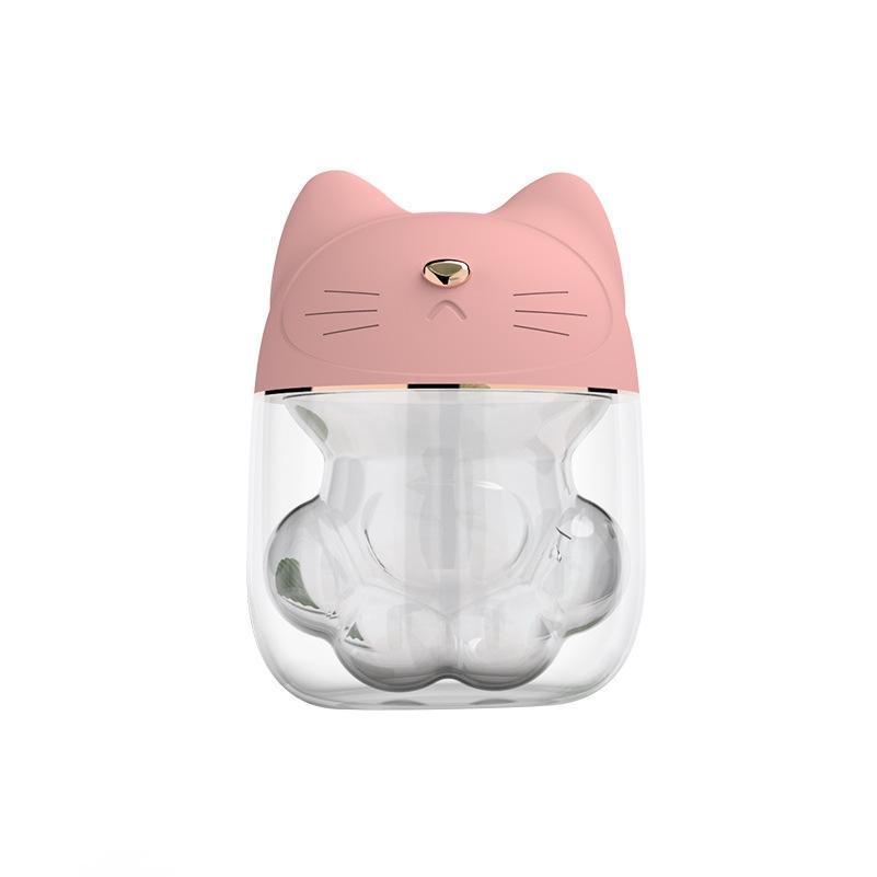 空氣加濕機 萌寵貓爪加溼器 薰香機 水氧機 小夜燈 精油燈 芳療精油 噴霧機 加濕器 精油香薰機 噴香機