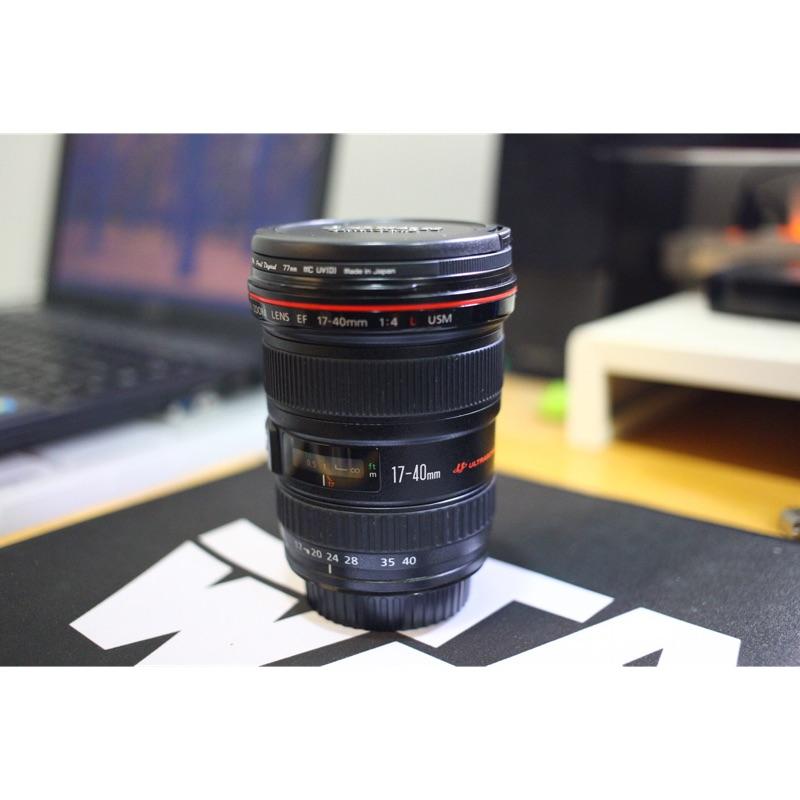 Canon EF 17-40mm F4 L 廣角鏡(公司貨)